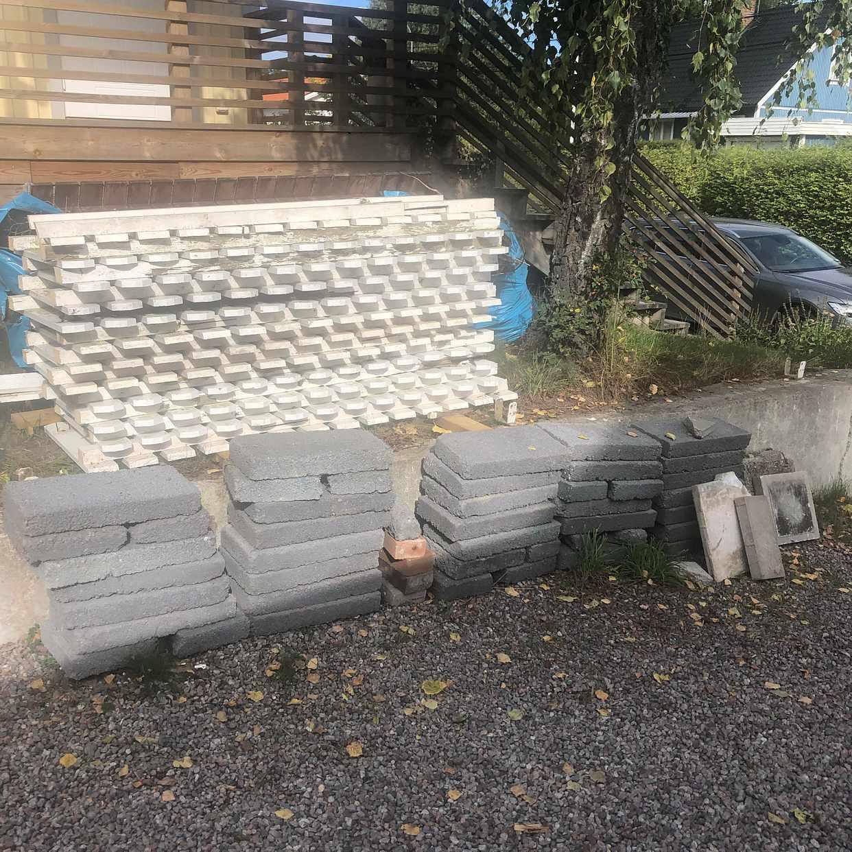 image of Bortforsling av staket mm - Älvsjö
