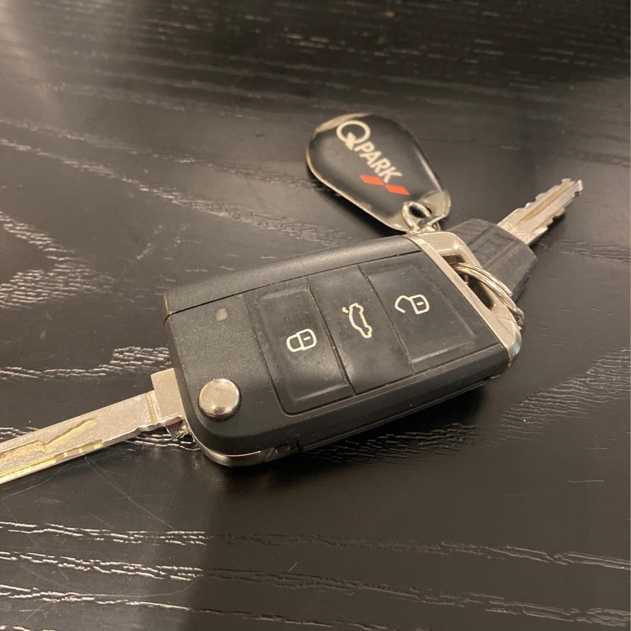 image of Lämna en bil nyckel -