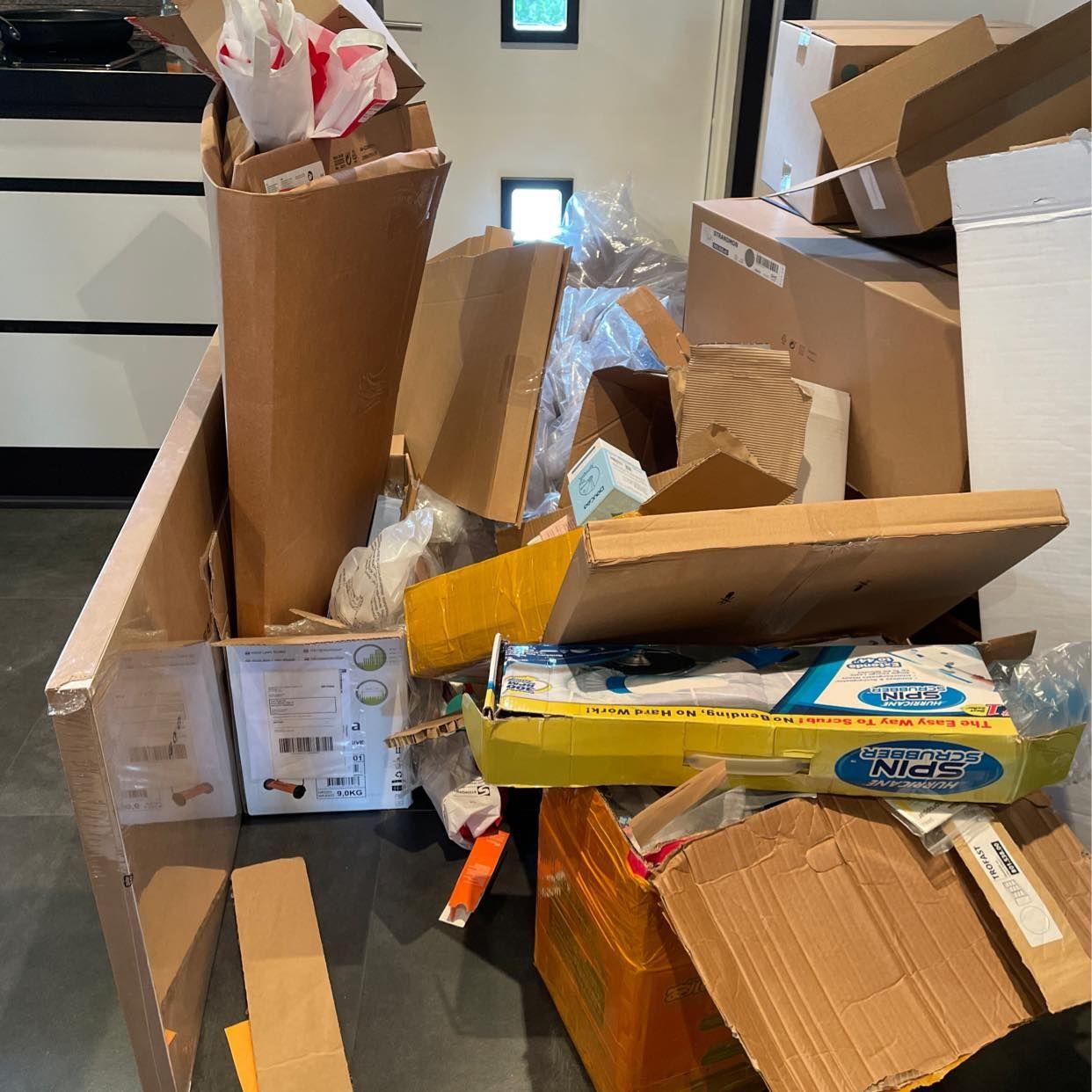 image of Cardboard mainly - Halmstad