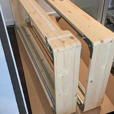 image of Säng, 160 cm -