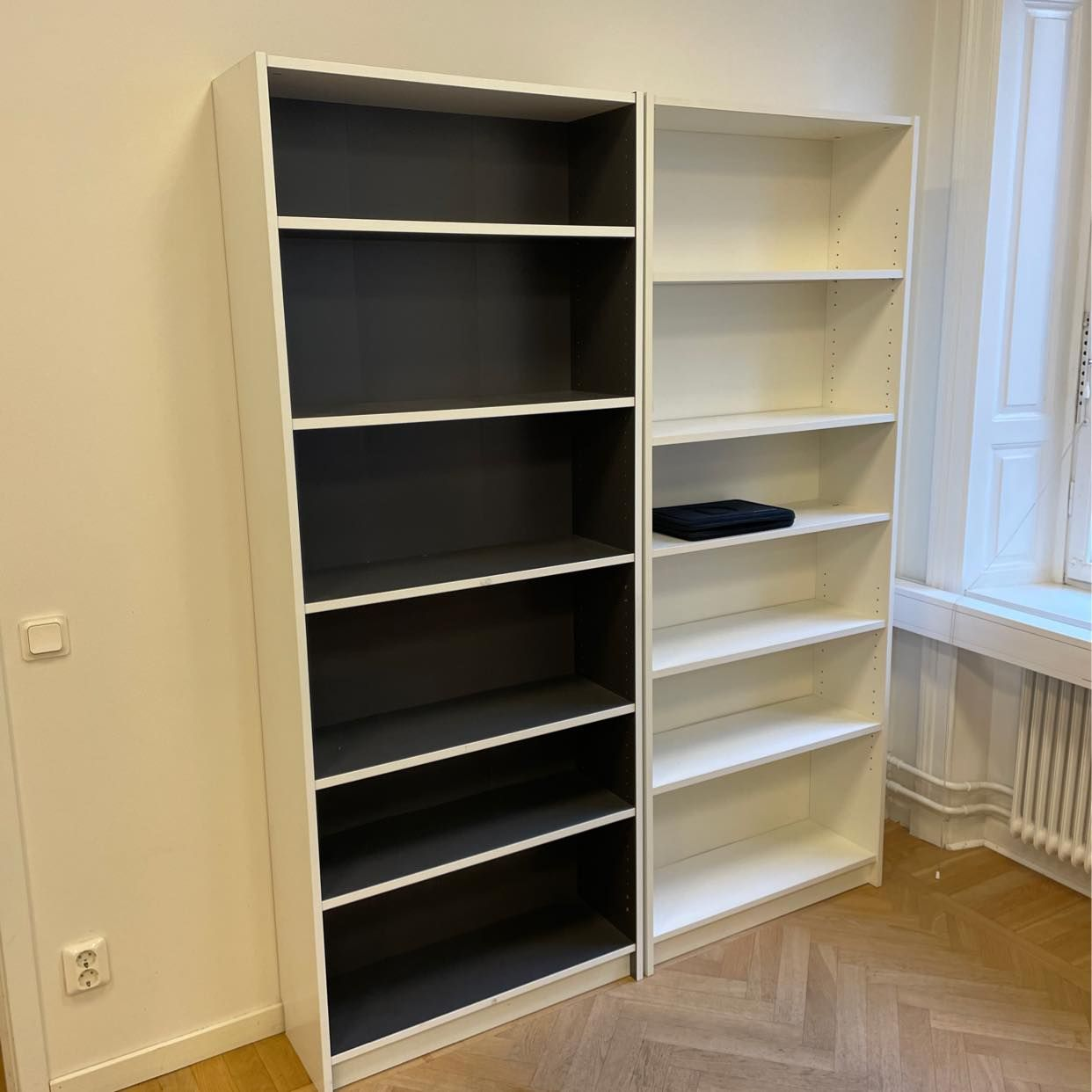 image of Två bokhyllor bortskänkes - Stockholm