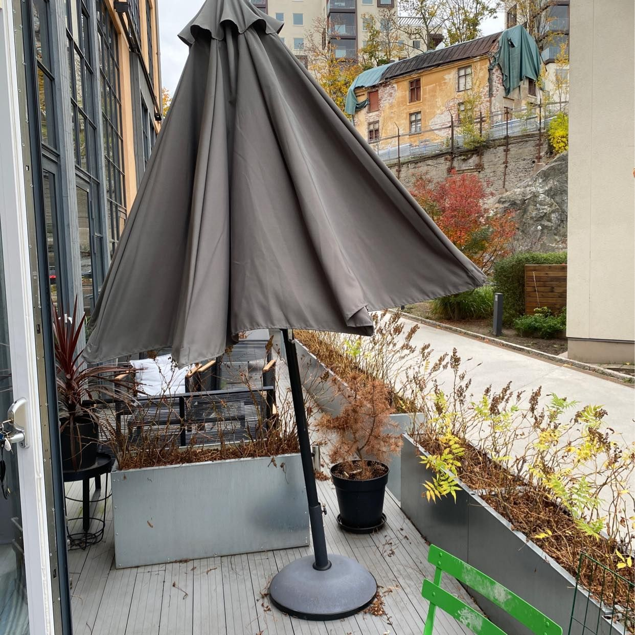 image of Parasoll bortskänkes - Nacka