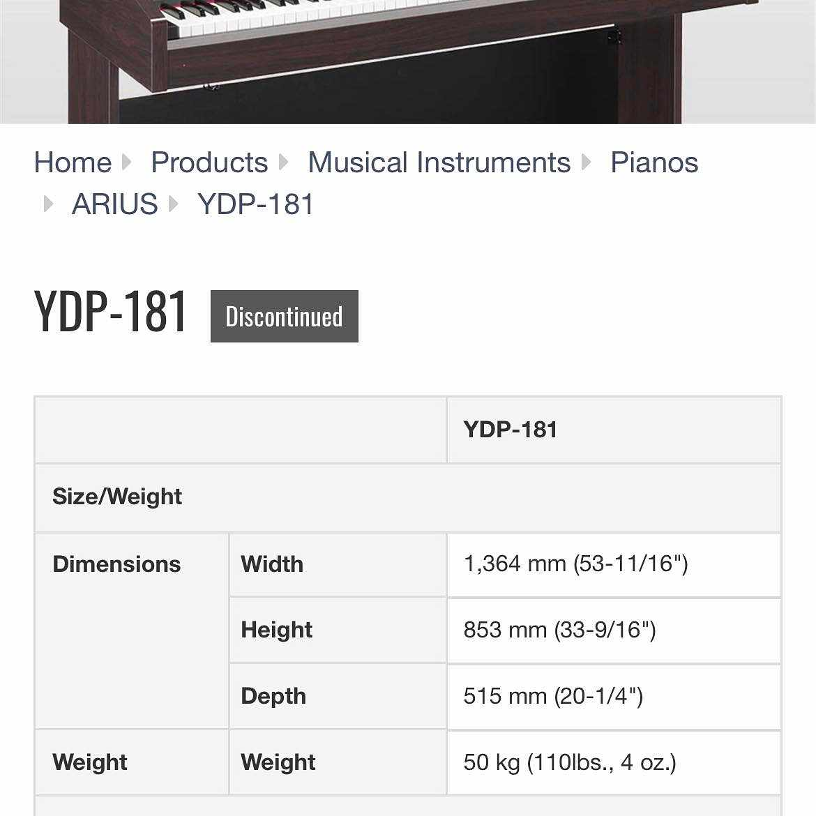 image of Move an electric piano -