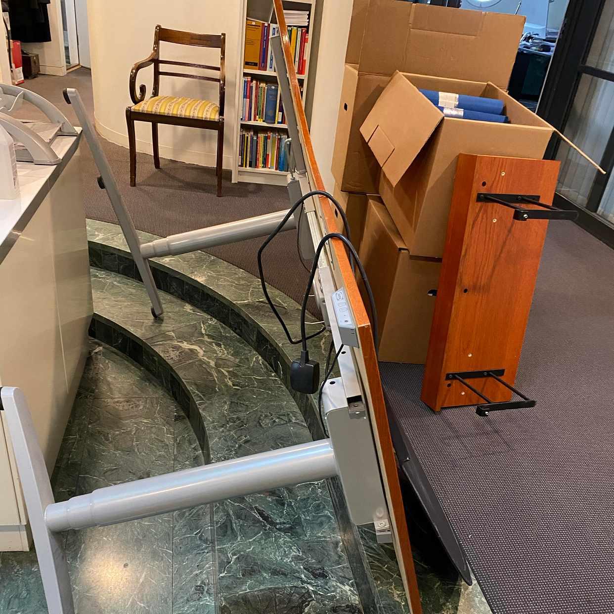 image of Upphämtning av möbler - Stockholm