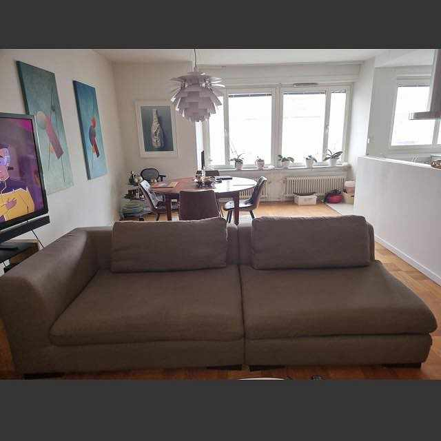 image of Flytt av soffa 4 moduler -