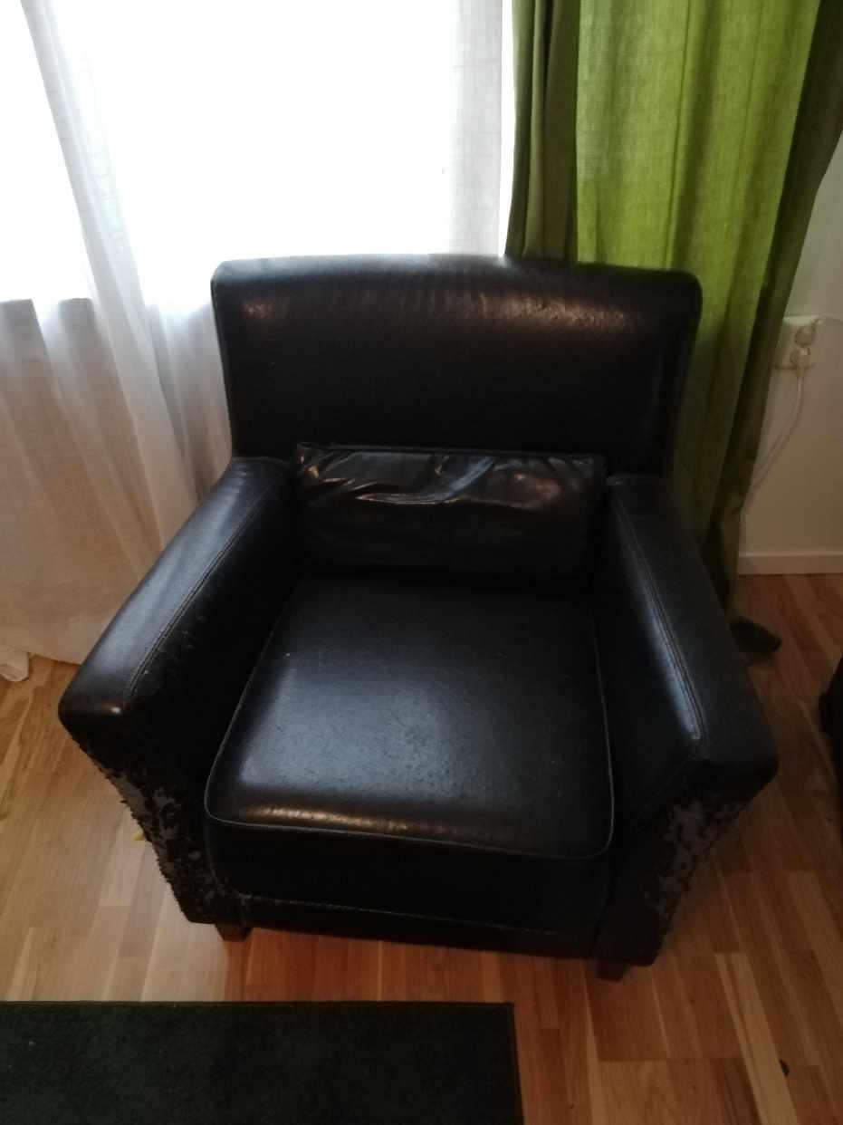 image of 3 armchairs, 1 chair - Göteborg