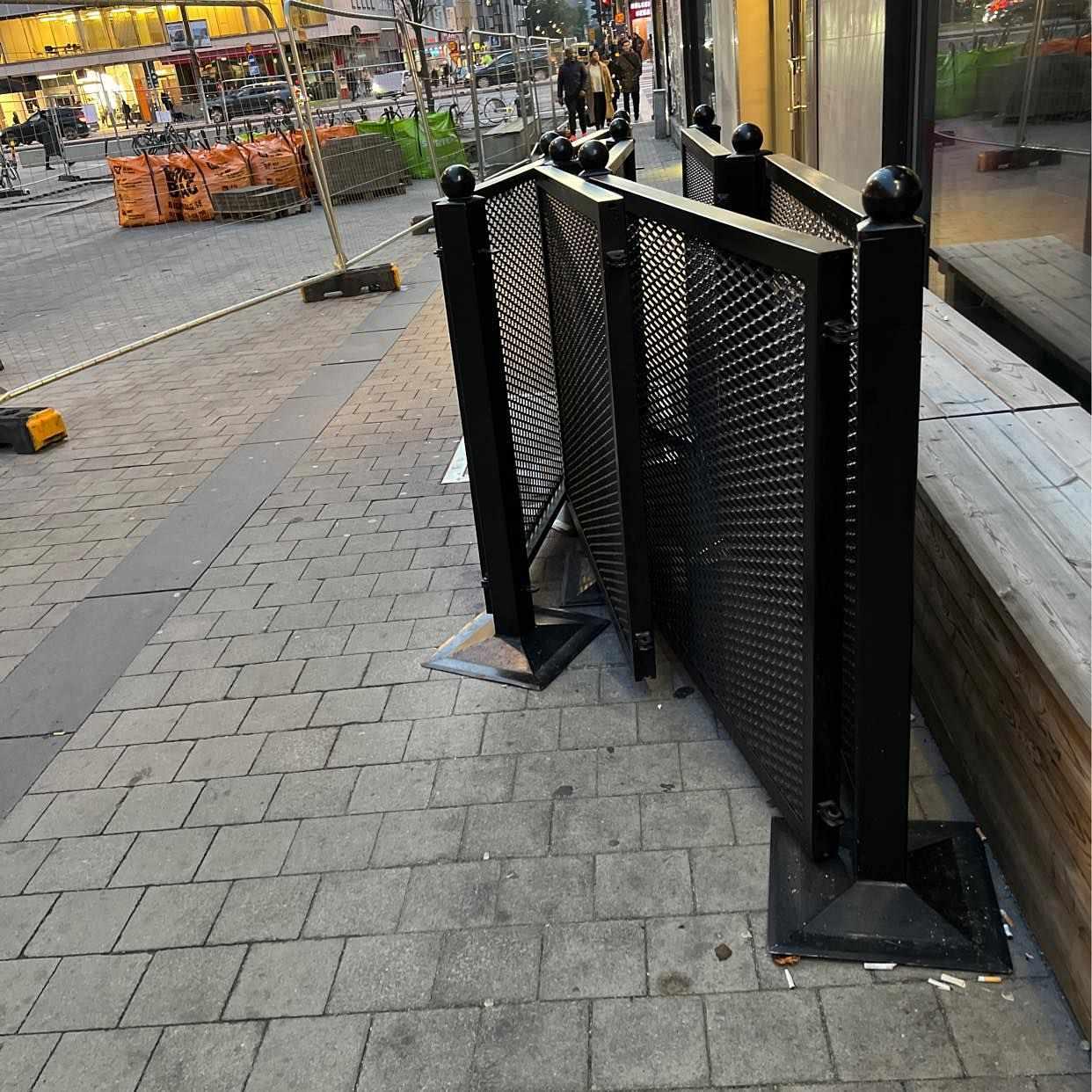 image of Flytta staket -